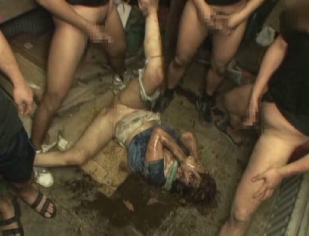 【レイプ事後画像】これが本物のヤリ捨て女wwwレイプ被害に遭った女の事後がアウト過ぎるwwww その13